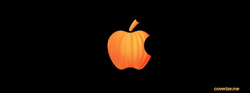 Halloween Apple Logo Facebook Cover | coverize.me | FREE Facebook ...