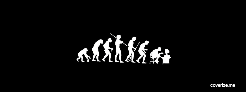 Geek Evolution Facebook Cover | coverize.me | FREE Facebook Covers!
