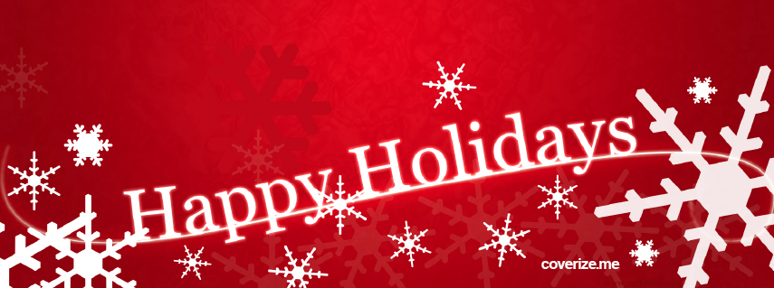Happy Holidays Facebook Cover coverizeme FREE Facebook Covers